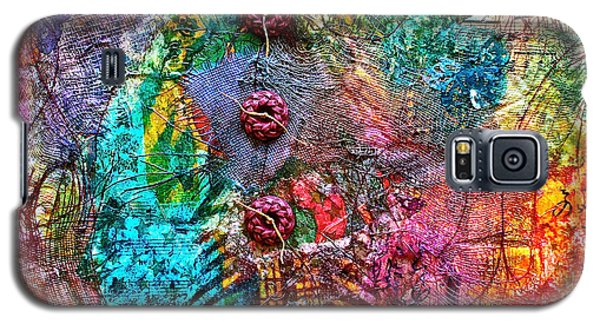 Color With Buttons Galaxy S5 Case by Bellesouth Studio
