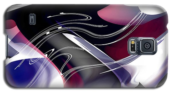Galaxy S5 Case featuring the digital art Color Works by rd Erickson