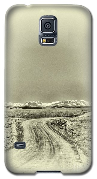 Colorado Back Road Galaxy S5 Case