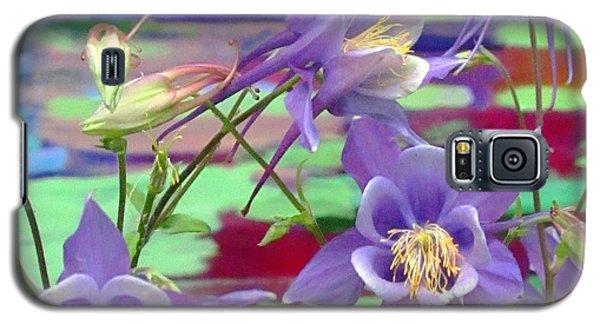 Colorado Columbine Galaxy S5 Case by Brenda Pressnall