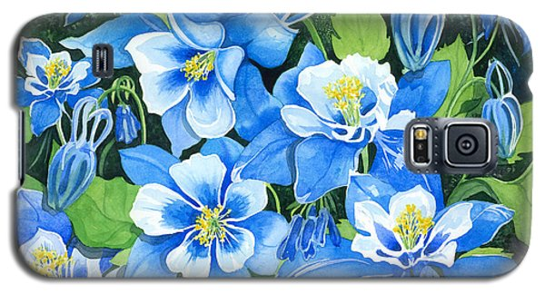 Colorado Columbines Galaxy S5 Case