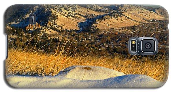Colorado Front Range Sunrise Galaxy S5 Case