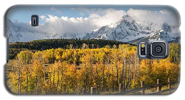 Colorado Gold Panorama Galaxy S5 Case