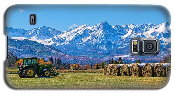 Colorado Hayfield Galaxy S5 Case