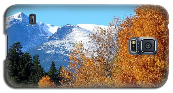 Colorado Mountains In Autumn Galaxy S5 Case by Marilyn Burton