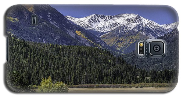 Colorado Mtn And Lake Galaxy S5 Case