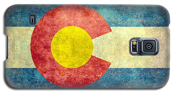 Colorado State Flag Galaxy S5 Case by Bruce Stanfield