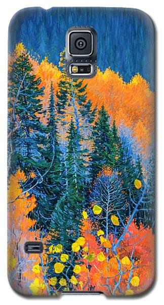 Colorado Trees At Fall Galaxy S5 Case