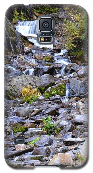 Colorado Waterfall Mountain Stream Galaxy S5 Case by Andrea Hazel Ihlefeld