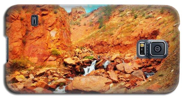 Colored Falls Galaxy S5 Case