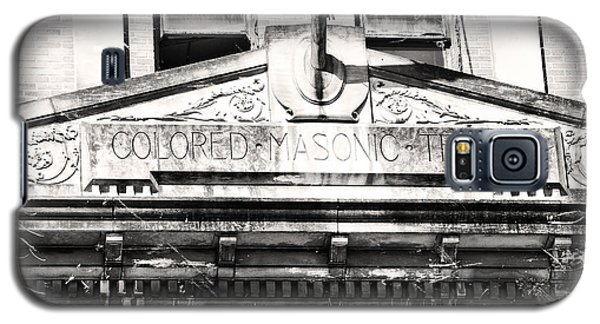 Colored Masonic Temple Galaxy S5 Case by Davina Washington