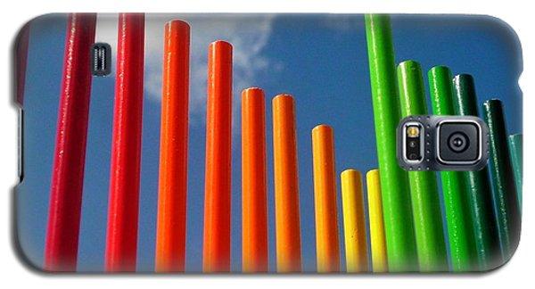 Colored Pencils  Galaxy S5 Case by Elizabeth Sullivan