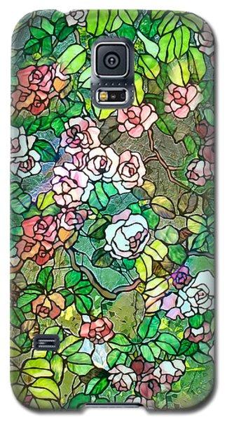 Colored Rose Garden Galaxy S5 Case