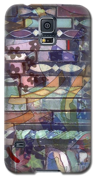 colorful abstract art photography - Brickwork Galaxy S5 Case