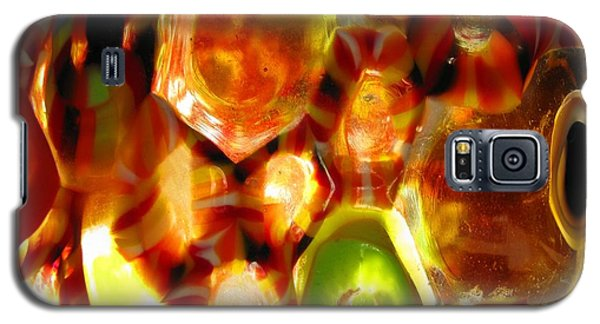 Colorful Abstract Galaxy S5 Case by Ausra Huntington nee Paulauskaite