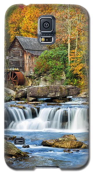 Colorful Autumn Grist Mill Galaxy S5 Case