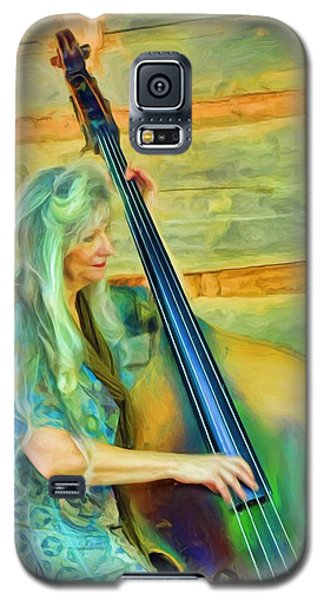 Colorful Bass Fiddle Galaxy S5 Case