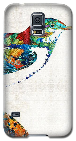 Colorful Bird Art - Sweet Song - By Sharon Cummings Galaxy S5 Case