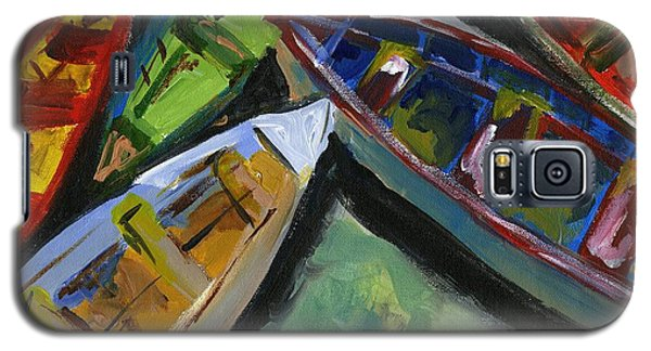 Colorful Boats Galaxy S5 Case