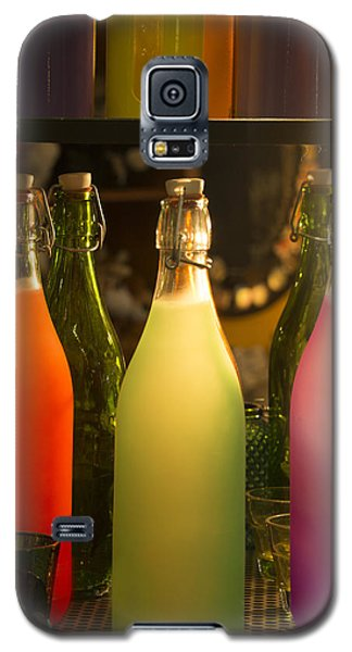 Colorful Bottles Closeup Galaxy S5 Case