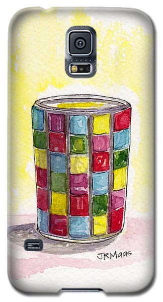 Colorful Candleholder Galaxy S5 Case by Julie Maas