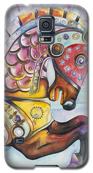 Colorful Carousel Horse  Galaxy S5 Case