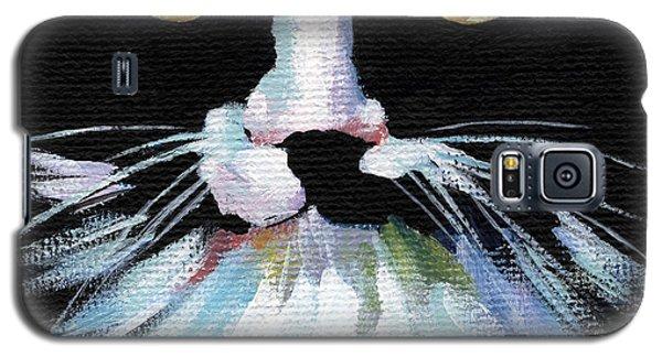 Colorful Cat Galaxy S5 Case by Natasha Denger