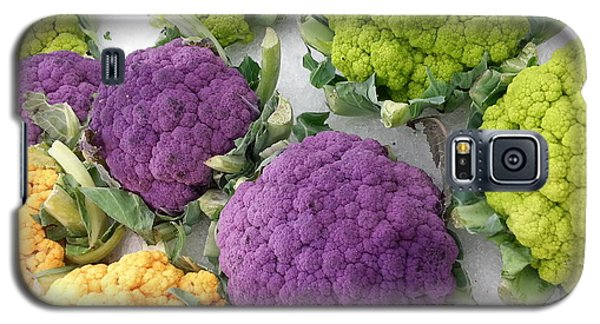 Galaxy S5 Case featuring the photograph Colorful Cauliflower by Caryl J Bohn