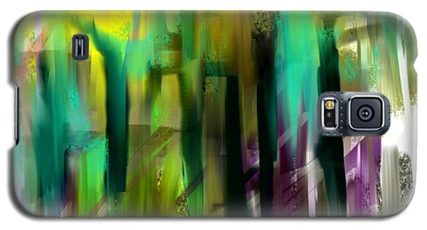 Colorful City Galaxy S5 Case by Jessica Wright
