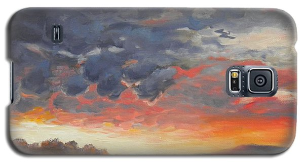 Colorful Clouds Galaxy S5 Case
