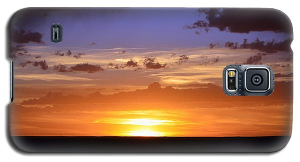 Colorful Colorado Sunset Galaxy S5 Case by Clarice  Lakota