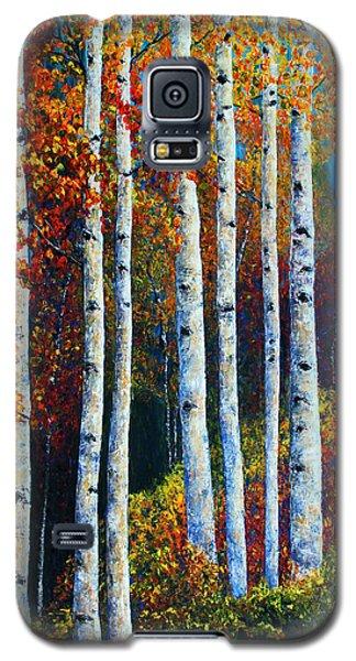 Colorful Colordo Aspens Galaxy S5 Case by Jennifer Godshalk