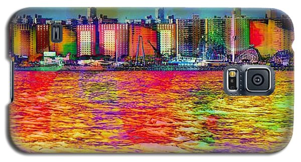 Colorful Coney Island Galaxy S5 Case