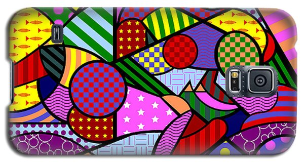 Colorful Couple 1 V-1 Galaxy S5 Case