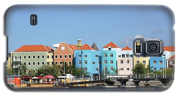 Colorful Curacao Galaxy S5 Case by Living Color Photography Lorraine Lynch