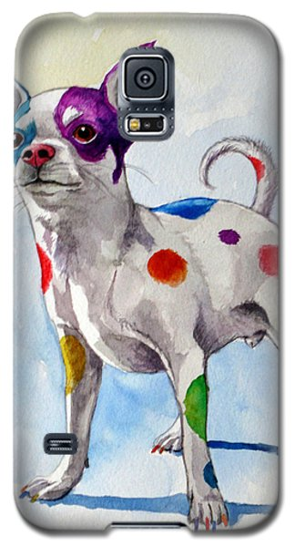 Colorful Dalmatian Chihuahua Galaxy S5 Case