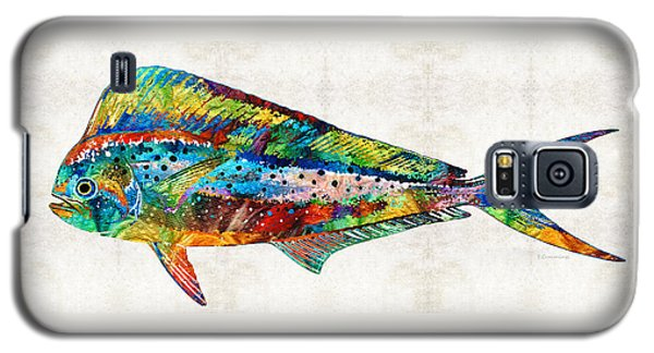 Colorful Dolphin Fish By Sharon Cummings Galaxy S5 Case