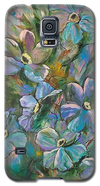 Colorful Floral Galaxy S5 Case