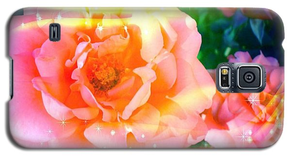 Pretty Pink Flowers Galaxy S5 Case