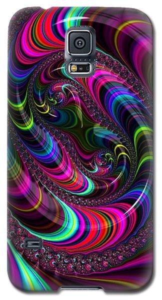 Colorful Fractal Art Galaxy S5 Case