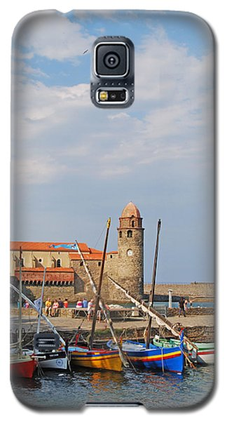 Colorful Harbour Galaxy S5 Case