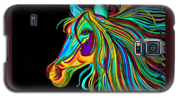 Colorful Horse Head 2 Galaxy S5 Case