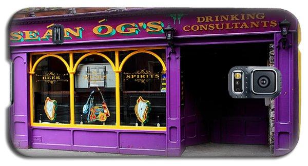 Colorful Irish Pub Galaxy S5 Case