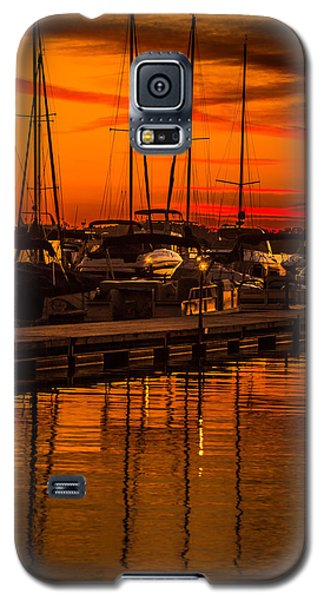 Colorful Lake Norman Sunset Galaxy S5 Case