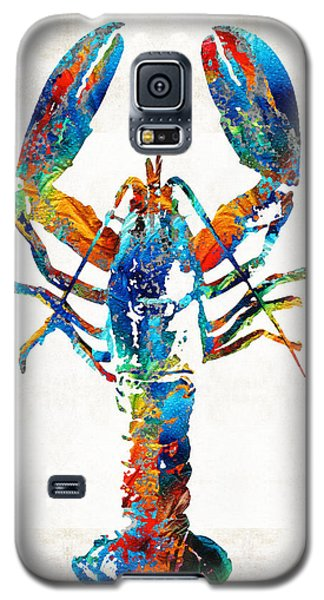 Colorful Lobster Art By Sharon Cummings Galaxy S5 Case