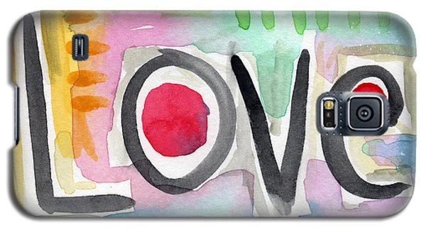 Colorful Love- Painting Galaxy S5 Case