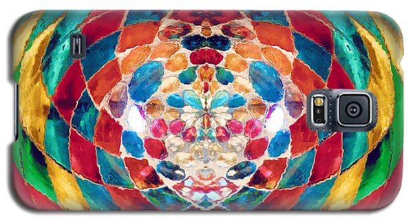 Colorful Mosaic Galaxy S5 Case