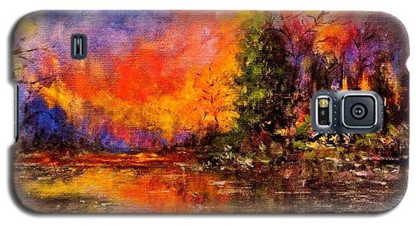Colorful Night.. Galaxy S5 Case by Cristina Mihailescu