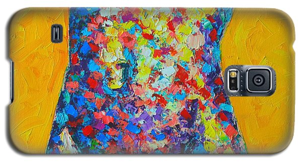 Colorful Nude  Galaxy S5 Case