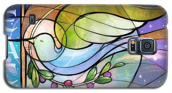 Colorful Peace Dove Galaxy S5 Case